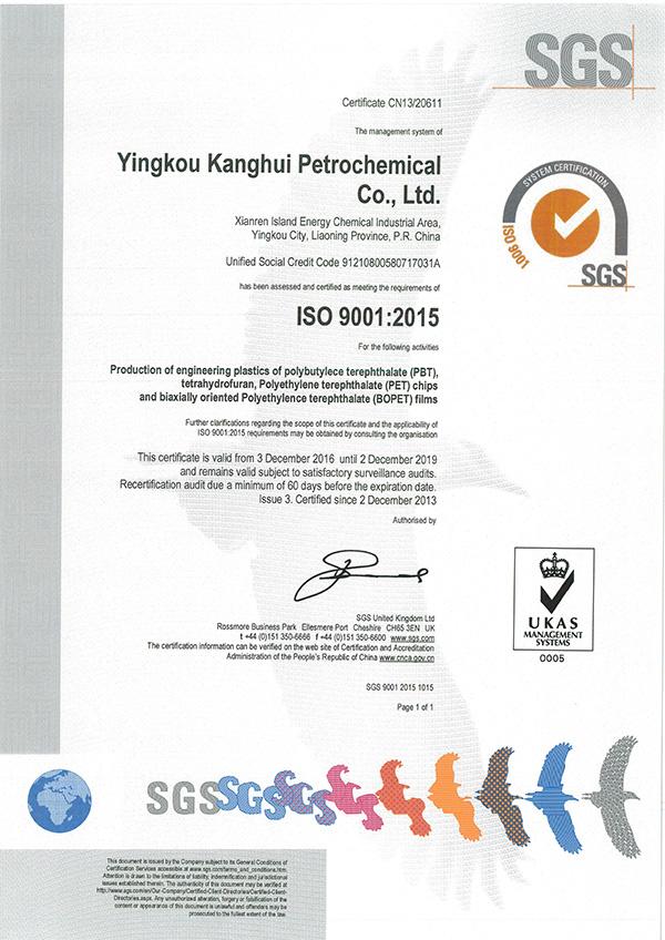 ISO9001:2015质量管理体系(英文版)